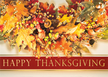 Feeling Thankful Thanksgiving Cards